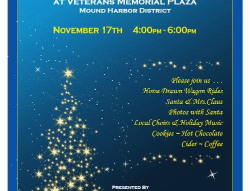 35th Annual Tree Lighting Nov 17th 2018