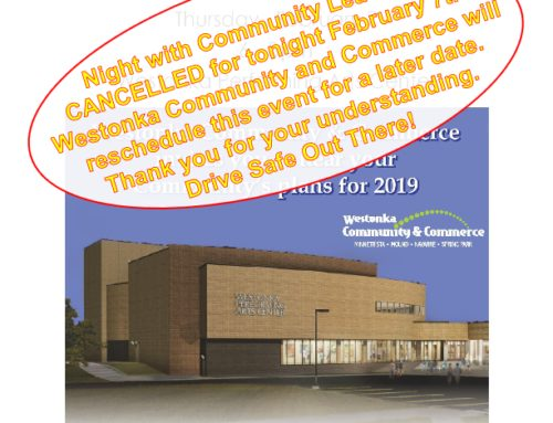 A Night With Community Leaders, Cancelled Due to Weather
