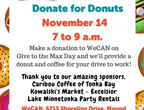 WeCAN, Donate for Donuts!