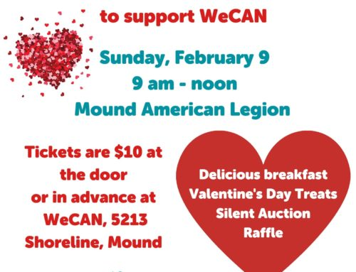 WeCAN Omelet Breakfast Feb 9th!!
