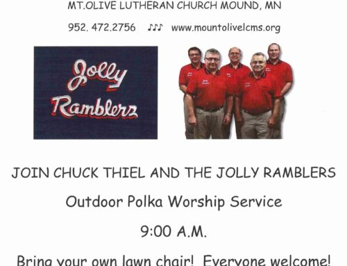 Outdoor Polka Worship Service
