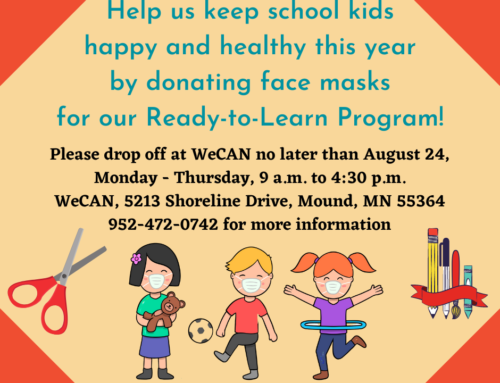 WeCAN Ready to Learn Donations
