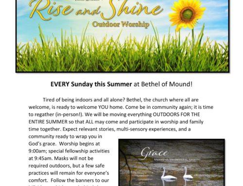 Bethel, Summer Rise and Shine