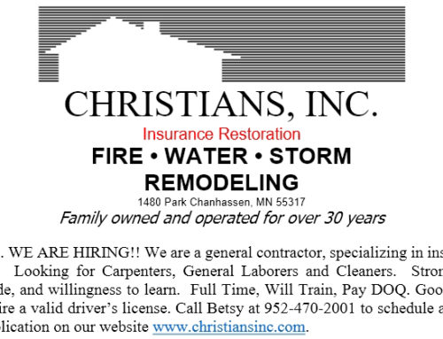 Christians, Inc. Is Hiring!