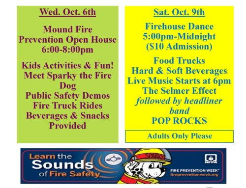 Fire Dept Events!
