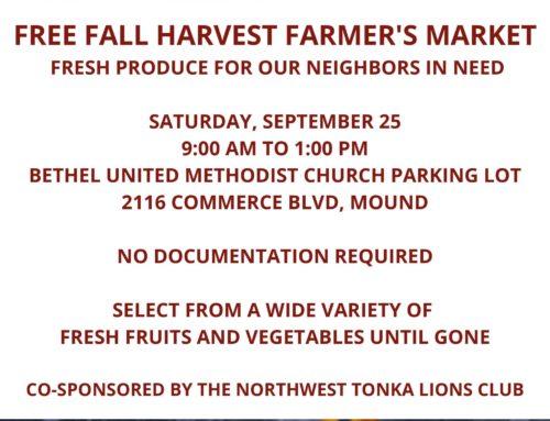Fall Harvest Farmer's Market